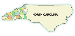 2021 counties in NC